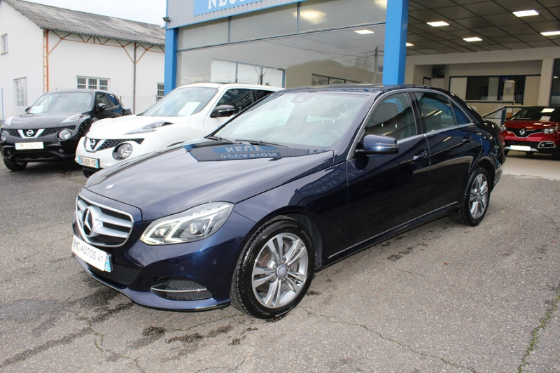 Mercedes-Benz CLASSE E (W212) 350 CDI BE BUSINESS EXECUTIVE 7GTRO+ Diesel BLEU NUIT METALLISEE Occasion à vendre